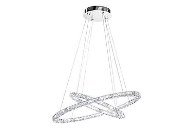 Taklampa Toneria LED Krom/Kristall