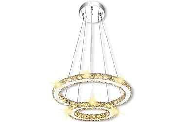 Taklampa Varvaro LED 23,6 W Kristaller