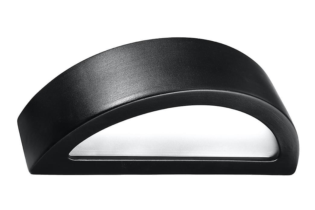 Vägglampa Atena Svart - Sollux Lighting - Belysning - Inomhusbelysning & Lampor - Vägglampa