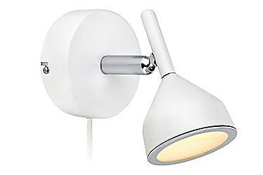 Vägglampa Bell Vit