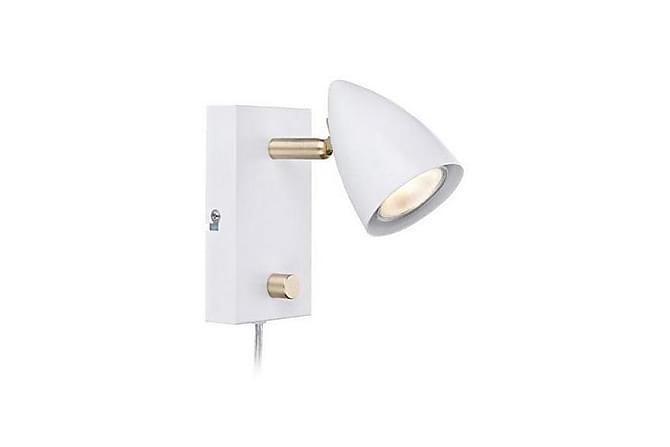 Vägglampa Ciro Vit/Mässing - Markslöjd - Belysning - Inomhusbelysning & Lampor - Vägglampa