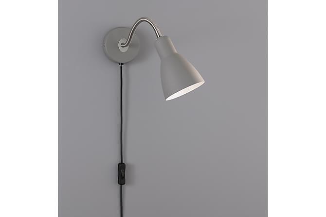 Vägglampa Fiona - Grå - Belysning - Inomhusbelysning & Lampor - Vägglampa
