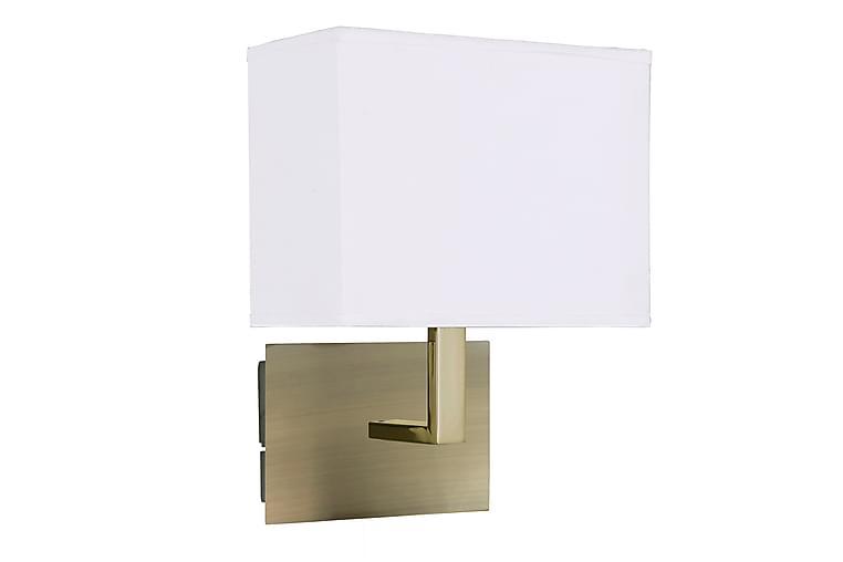 Vägglampa Guld/Vit - Searchlight - Belysning - Inomhusbelysning & Lampor - Vägglampa