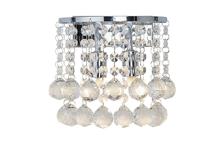 Vägglampa Hanna 18 cm Rund Dimbar 2 Lampor Krom/Blank - Searchlight - Belysning - Inomhusbelysning & Lampor - Vägglampa