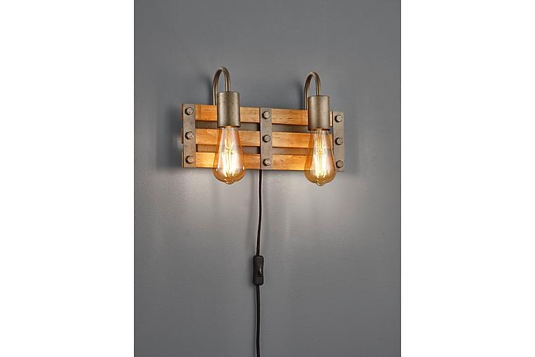 Vägglampa Khan Silver - Trio Lighting - Belysning - Inomhusbelysning & Lampor - Vägglampa