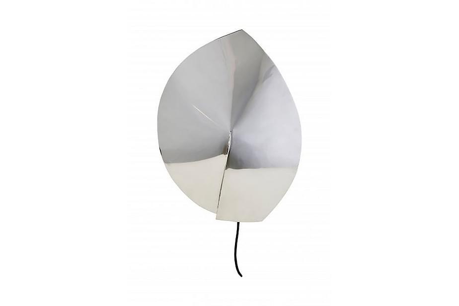 Vägglampa Leaf 24 cm Silver