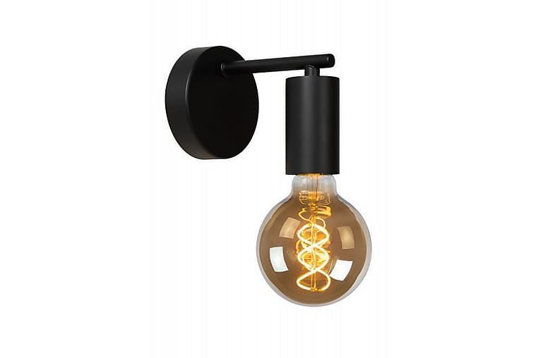 Vägglampa Leanne 15 cm Dimbar Svart - Lucide - Belysning - Inomhusbelysning & Lampor - Vägglampa