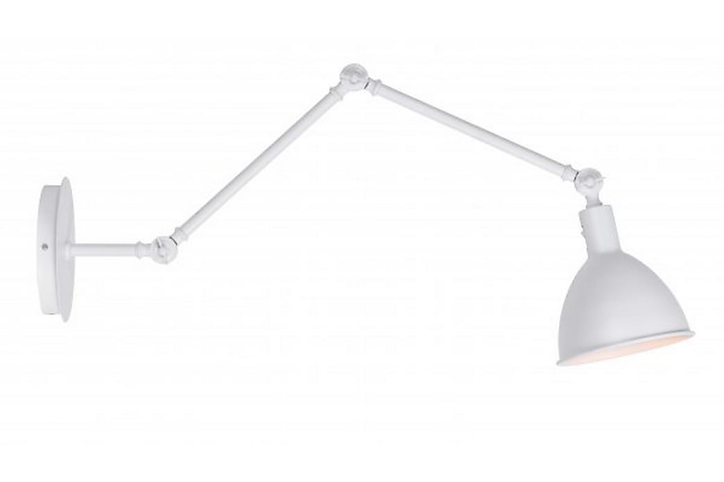 Vägglampa Lisa 18 cm Lång Vit - Kfab - Belysning - Inomhusbelysning & Lampor - Vägglampa