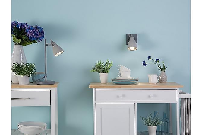Vägglampa Mistago I 15 cm - Grå - Belysning - Inomhusbelysning & Lampor - Vägglampa