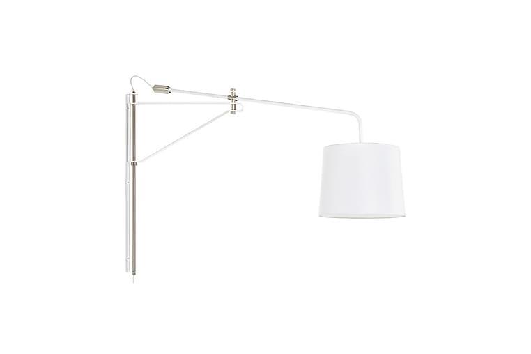 Vägglampa Pern Vit/Stål - Markslöjd - Belysning - Inomhusbelysning & Lampor - Vägglampa