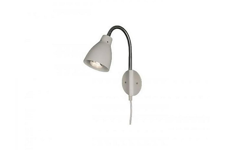 Vägglampa Sarek Vit - Aneta - Belysning - Inomhusbelysning & Lampor - Vägglampa