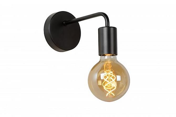 Vägglampa Scott 20 cm Dimbar Svart - Lucide - Belysning - Inomhusbelysning & Lampor - Vägglampa
