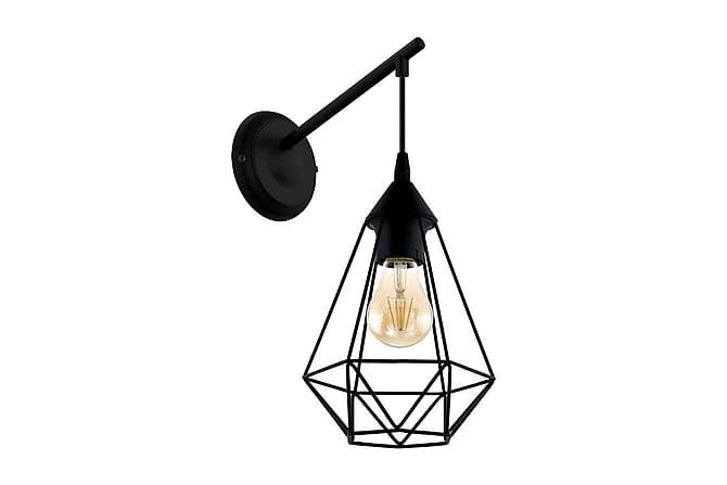 Vägglampa Tarbes 16 cm Svart - Eglo - Belysning - Inomhusbelysning & Lampor - Vägglampa