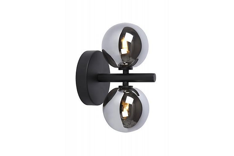 Vägglampa Tycho 15 cm Dimbar 2 Lampor Svart - Lucide - Belysning - Inomhusbelysning & Lampor - Vägglampa