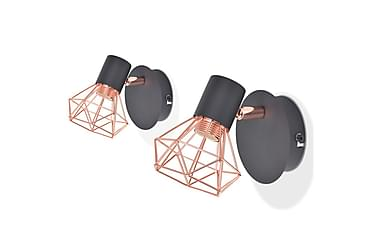 Vägglampa Wengler 2-pack