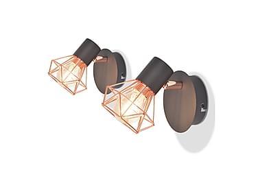 Vägglampa Wengler LED-filamentlampa 8 W 2-pack