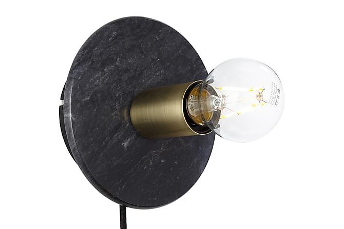 Vägg/Taklampa Ruari Dimbar - Svart Marmor|Mässing - Belysning - Inomhusbelysning & Lampor - Vägglampa