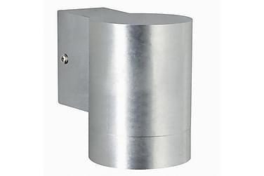 Vägglampa Castor 8 cm Rund LED Maxi Galvaniserat Stål