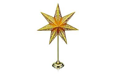 Bordstjärna Vallby 66 cm Guld