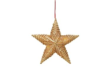 Dekoration Stjärna Tora LED Halm