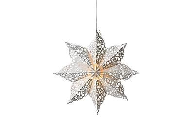 Julstjärna Hall 70 cm Vit