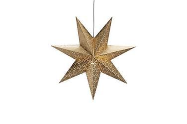 Julstjärna Tostared 45 cm Guld
