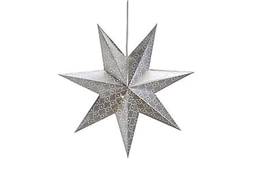 Julstjärna Tostared 45 cm Silver