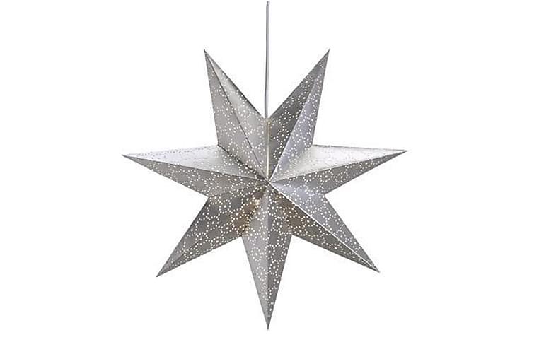 Julstjärna Tostared 45 cm Silver - Markslöjd - Belysning - Julbelysning - Adventsstjärna