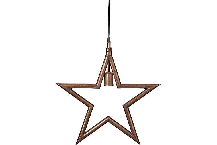 Metallstjärna Koppar - PR Home - Belysning - Julbelysning - Adventsstjärna