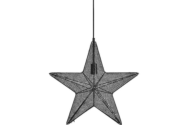 Orion Hanging Star Svart - PR Home - Belysning - Julbelysning - Adventsstjärna