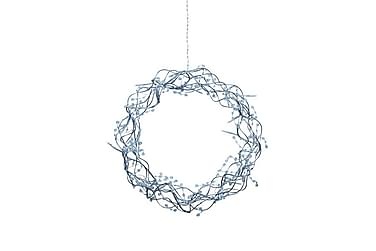 Krans Libra LED 35 cm Silver