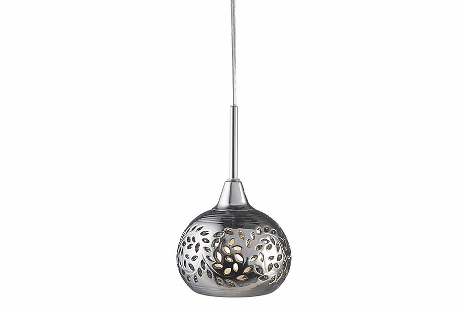 Pendel Lohals 18 cm Krom/Silver