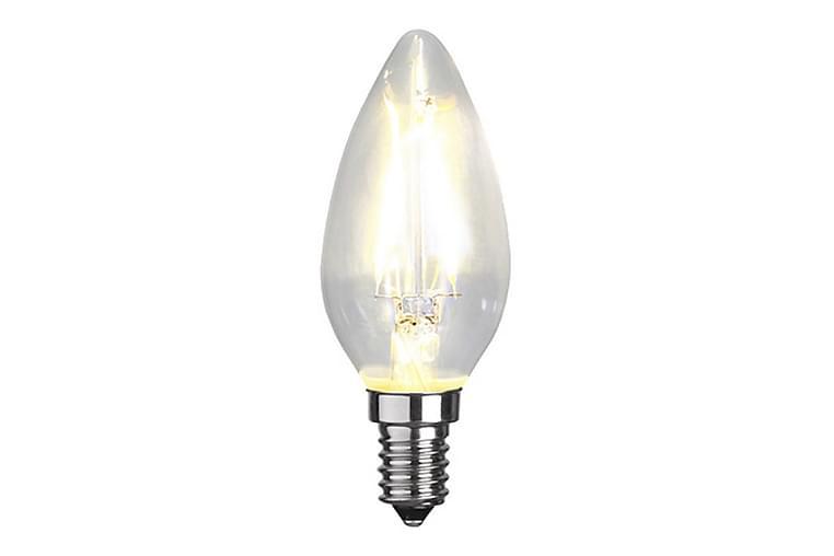 LED-lampa E14 C35 Clear - Star Trading - Belysning - Glödlampor & ljuskällor - Glödlampor