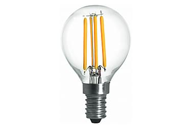 LED-lampa Klot 3,6W E14 Dim Filament Klar