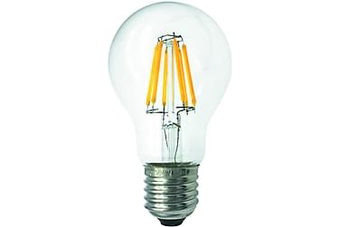 LED-lampa Normal 3,6W E27 2700K Filament Klar