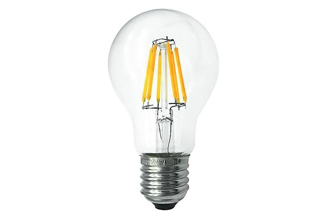 LED-lampa Normal 5,4W E27 2700K Dim Filament Klar - Malmbergs Elektriska - Belysning - Glödlampor & ljuskällor - LED-belysning