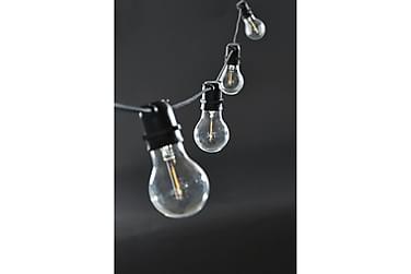 Ljusslinga 84 cm Normal LED Svart