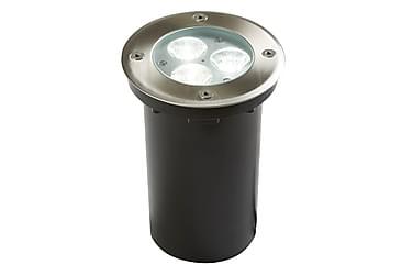 Utelampa LED Recessed Walkover Rostfritt Stål