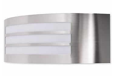 Utomhusvägglampa rostfritt stål