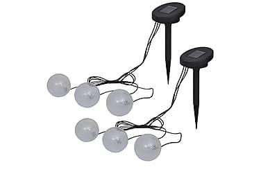 Flytande lampor 6 st LED för damm och pool