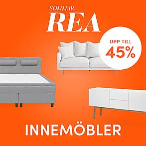 Sommarrea - Upp till 45% på inomhusmöbler