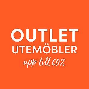 Outlet - Utemöbler!