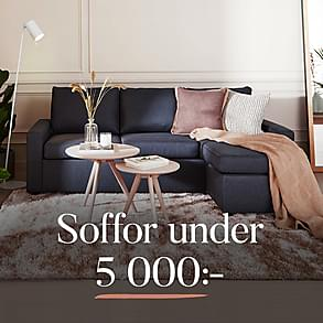 Soffor under 5 000:-