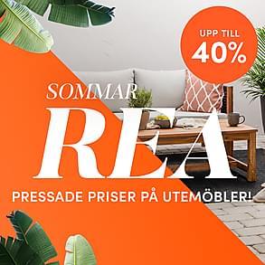 Sommarrea - Upp till 40% på utemöbler