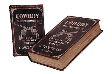 Bokförvaring Cowboy 2Set