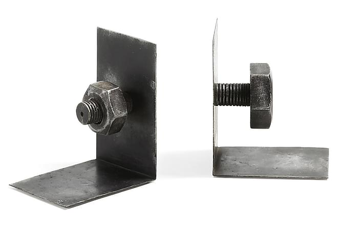 Bokslut Cobalt Mörkgrå 26/10cm - Grå|Vit - Inredning - Dekoration - Inredningsdetaljer