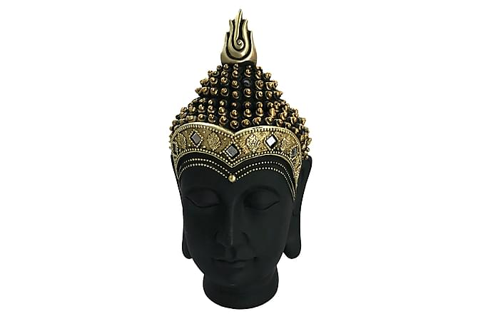 Dekoration Amitai Buddha Huvud 10x19 cm - Mässing Svart - Inredning - Dekoration - Inredningsdetaljer