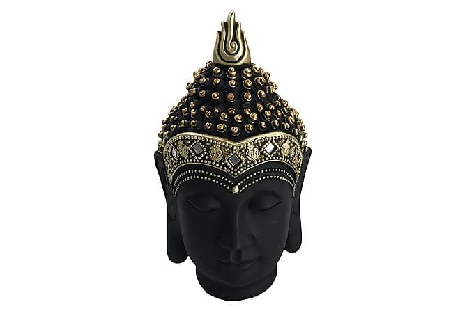 Dekoration Amitai Buddha Huvud 15x27 cm - Mässing|Svart - Inredning - Dekoration - Inredningsdetaljer