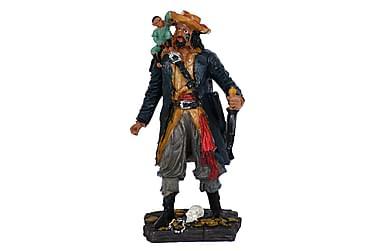 Dekoration Blackbeard Sjörövare Apa