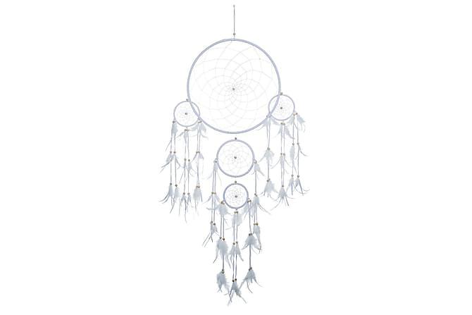 Drömfångare Cherice 42 cm - Vit - Inredning - Dekoration - Inredningsdetaljer